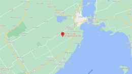 Map to Skywagon City at 2851 Concession Road 7, Ramara, ON